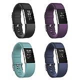 Fitbit Charge 2 Armband Zur Herzfrequenz und Fitnessaufzeichnung