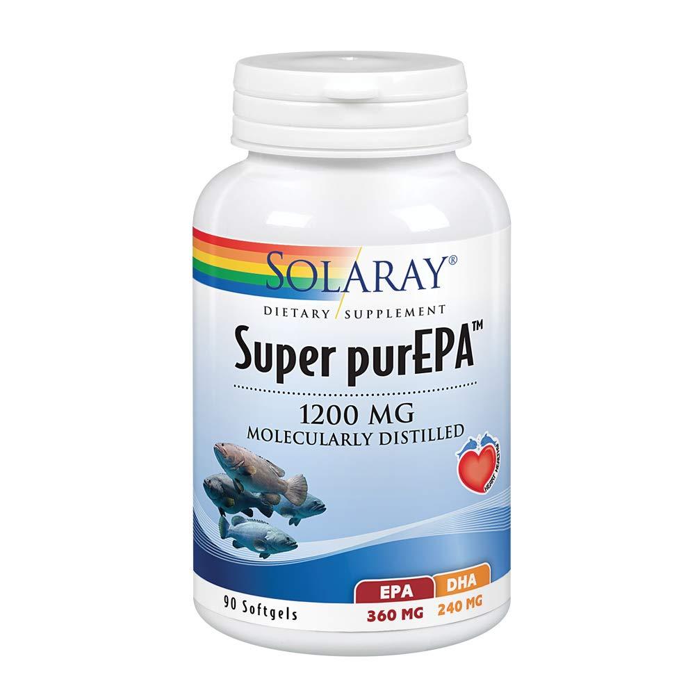 Solaray Super Purepa Capsules, 1200 mg, 90 Count