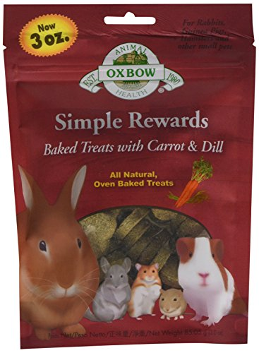 Picture of Oxbow Simple Rewards Baked Treats - Carrot & Dill - 2 oz