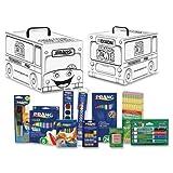 Dixon Ticonderoga Company School Supply Art Kit, White