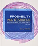 img - for Bundle: Probability and Statistics for Engineering and the Sciences, 9th + WebAssign Printed Access Card for Devore's Probability and Statistics for ... and the Sciences, 9th Edition, Single-Term book / textbook / text book