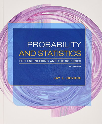 Bundle: Probability and Statistics for Engineering and the Sciences, 9th + WebAssign Printed Access Card for Devore's Probability and Statistics for ... and the Sciences, 9th Edition, Single-Term -  Devore, Jay L., Display