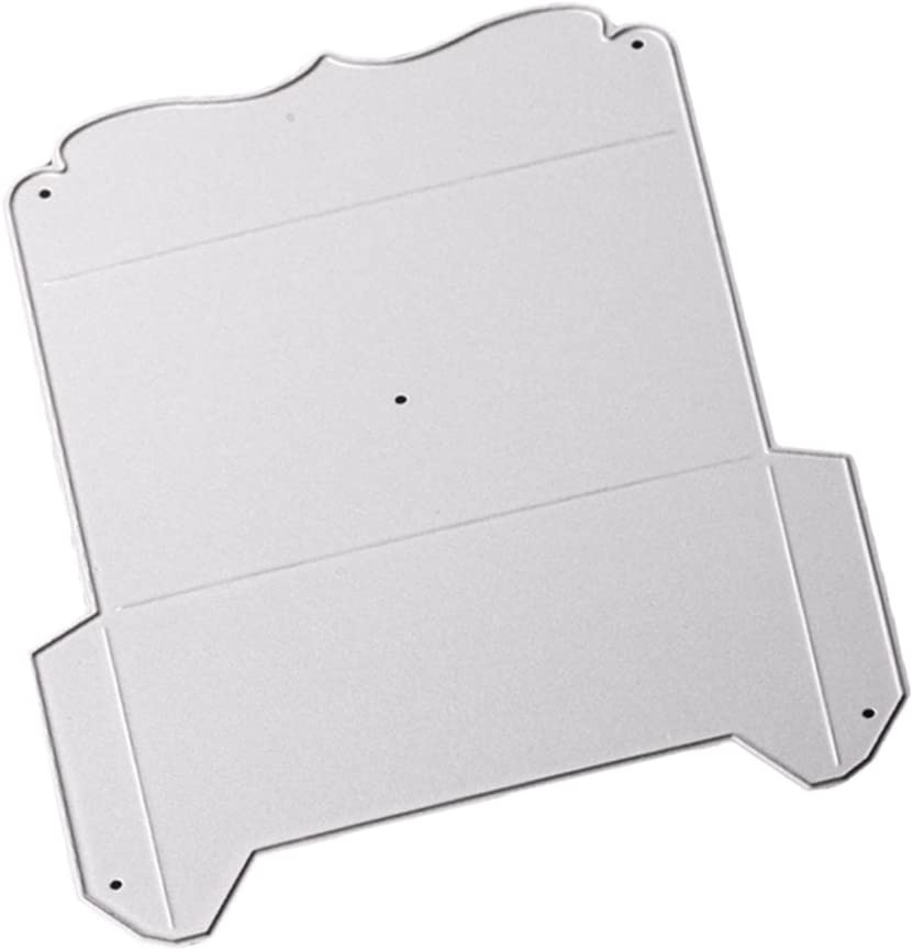 ceng-AIO Line Plastic Embossing Folder Stencil Template DIY Scrapbook Photo Album Making