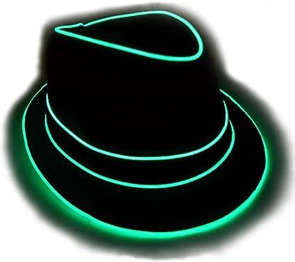 Glowing Fedora Hat