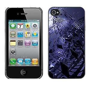 Stuss Case / Funda Carcasa protectora - Erratic Abstract - iPhone 4 / 4S