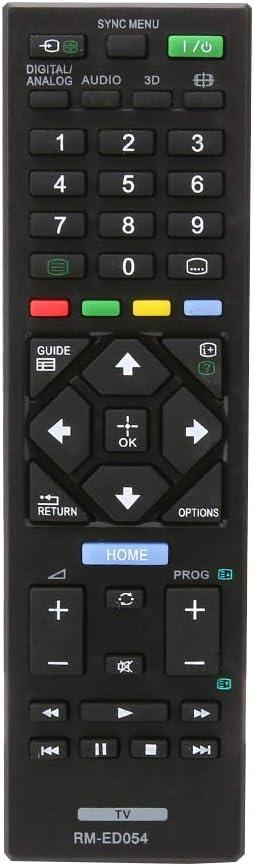 Repuesto RM-ED054 Mando para Sony bravia TV LED LCD KDL-32R420A KDL-40R470A KDL-46R470A: Amazon.es: Electrónica