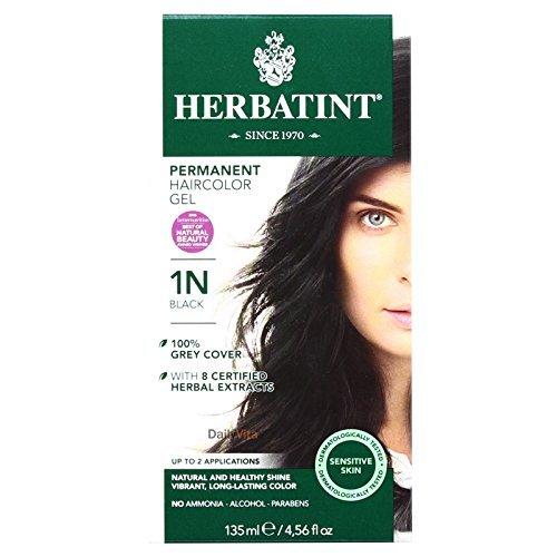 - Herbatint Hr Color 1n Black, Pack of 2