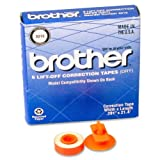 Brother 3015 LIFT-OFF Correction Tape - 6 / Pack - Black
