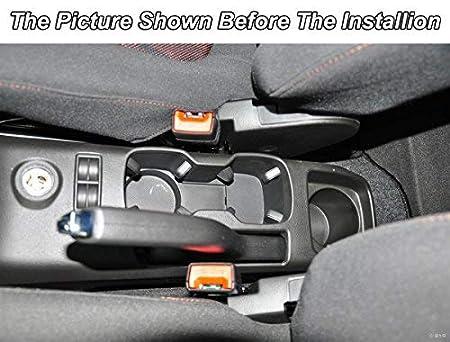 console centrale con vano portaoggetti interno Autosunshine Bracciolo in pelle per auto