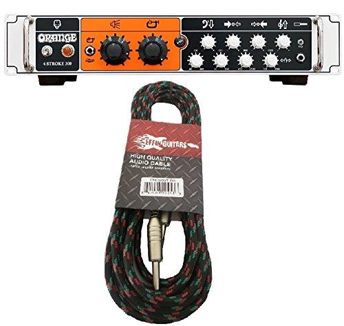 - Orange 4 Stroke 300 - 300 Watt Solid State Bass Amplifier Head w/Tweed Cable