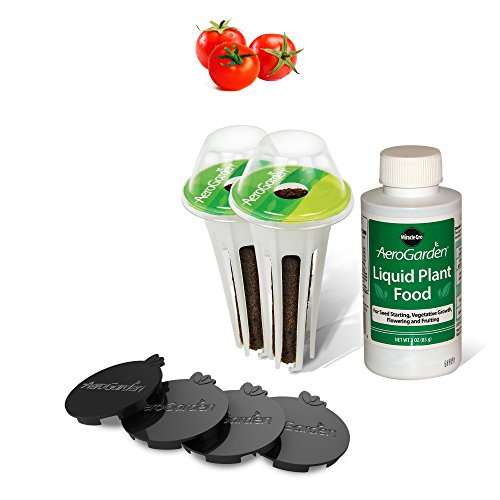 AeroGarden 806501-0208 Red Heirloom Cherry Tomato Kit for Harvest & Classic 6 Models