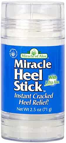 Miracle of Aloe, Miracle Heel Stick with UltraAloe, 2.5 ounce stick