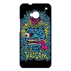 Fashion Colorful Funny Diamond Volcom Phone Case Cover for Htc One M7 Volcom Popular Shell