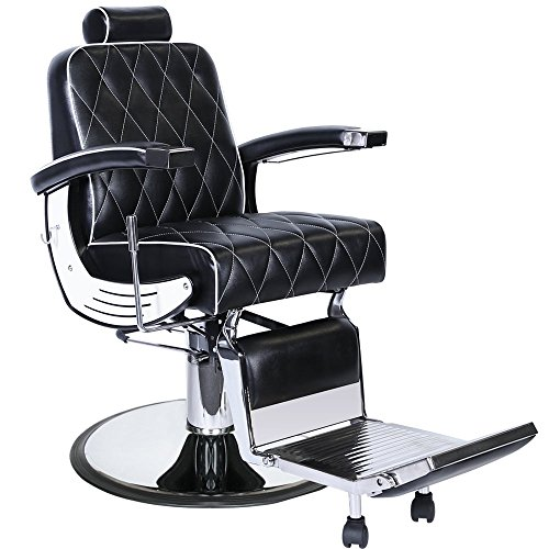G6 Professional Hydraulic Reclining Barber Equipment Chair Bc 88Blk