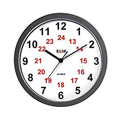 CafePress - Wall Clock - 24 Hour - Large Numeral - Unique Decorative 10 Wall Clock