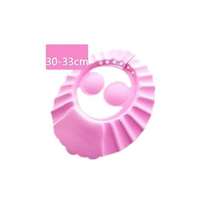 70ce4138e5cc CAOLATOR Lave-vaisselle Shampooing Douche Bain de protection doux Bonnet  pour enfant, bébé,