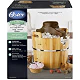 Oster 4-Quart Wood Bucket Ice Cream Maker