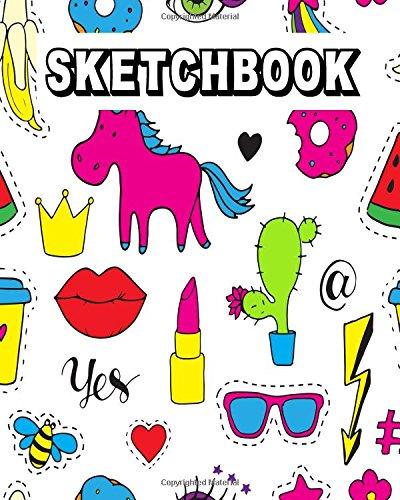 Sketchbook: Blank Drawing Sketchbook Journal For Kids 8x10 100pages (Volume 15)