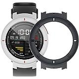 SIKAI PC Coque de Protéger Shell pour Amazfit Verge Smartwatch Anti-Rayures Cadre de Couleur Housse de Protection pour Xiaomi Huami Amazfit 3rd Smartwatch (Noir)