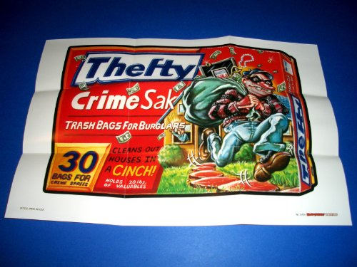 2012 Wacky Packages 2012 Wacky Packages 1st Series Posters **Thefty** Poster #3 (Wacky Packages Poster)
