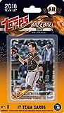 2018 Topps Baseball Factory San Francisco Giants Team Set of 17 Cards which includes: Buster Posey(#SG-1), Hunter Strickland(#SG-2), Ty Blach(#SG-3), Brandon Belt(#SG-4), Johnny Cueto(#SG-5), Jeff Samardzija(#SG-6), Hunter Pence(#SG-7), Evan Longoria(#SG-8), Jarrett Parker(#SG-9), Joe Panik(#SG-10), Brandon Crawford(#SG-11), Cory Gearrin(#SG-12), Pablo Sandoval(#SG-13), Mark Melancon(#SG-14), Chris Stratton(#SG-15), Sam Dyson(#SG-16), Gorkys Hernandez(#SG-17)