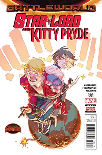 STAR-LORD AND KITTY PRYDE (2015) #3 VF/NM BATTLEWORLD SECRET WARS
