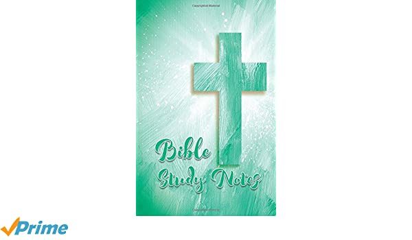 Bible Study Notes: Gray 5.5x8.5 Cross Design Bible Study Notes 120 Lightly Lined Pages Journal Softcover Paperback Notebook Diary (Volume 2)
