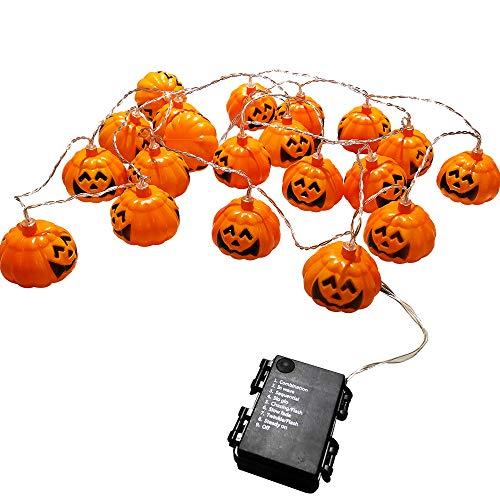 Outdoor Pumpkin String Lights in US - 9