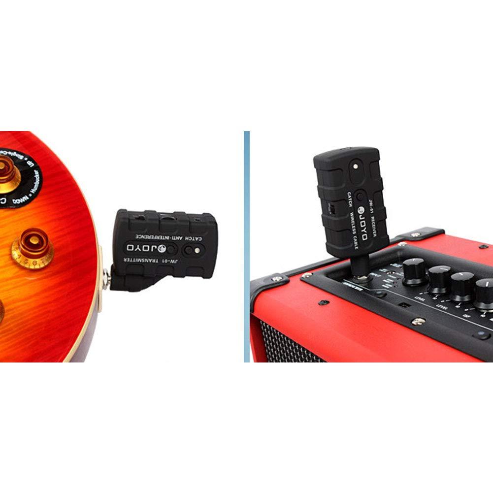 Leoie Digital Pro Guitar Bass Wireless Rechargeable 2.4Ghz Audio Transmitter Receiver Kit US Plug by Leoie (Image #6)