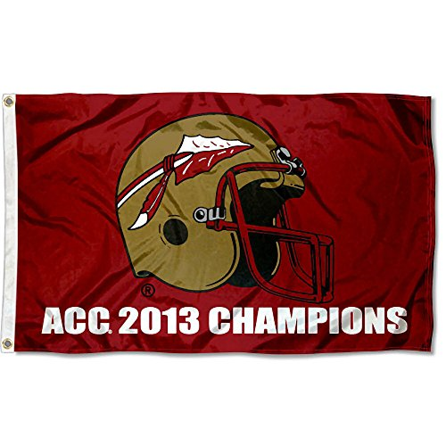 2013 Ncaa Football Champion - College Flags and Banners Co. FSU Seminoles 2013 ACC Football Champions Flag Large 3x5