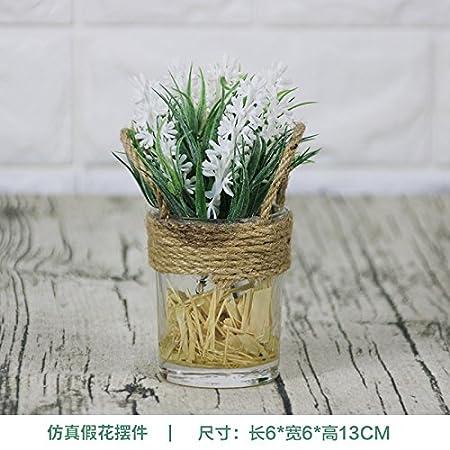 wpewei-creative simulación de flores mesa salón decoración de ...