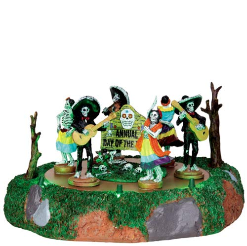 Lemax Spooky Town Day Of The Dead Parade Battery Operated # 44732 by Lemax