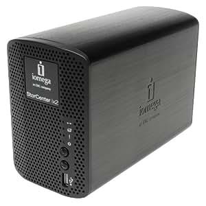 Iomega StorCenter ix2-200 2TB - Unidad RAID (1 GHz, 2048 GB, 1024 GB, 1, JBOD, 0.25 GB, IEEE 802.3, IEEE 802.3u)