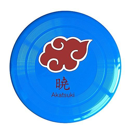 VOLTE Japanese Comic Naruto Shippuden Akatsuki Organization RoyalBlue Flying-discs 150 Grams Outdoor Activities Frisbee Star Concert Dog Pet Toys