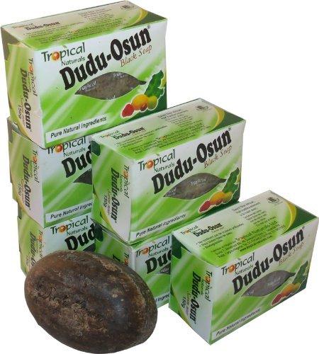 6 Black Soap Dudu Osun Soap Set