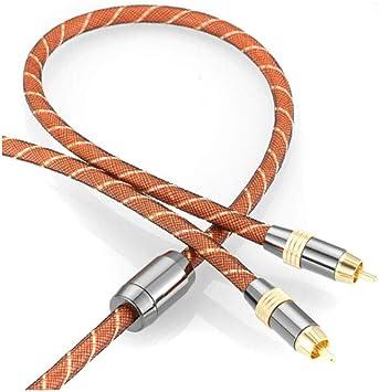 Cable de audio, Cable de audio coaxial digital RCA Lotus Head ...