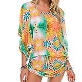 LULI FAMA Womens South Beach Dress Medium Multicolor