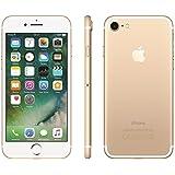 """Apple iPhone 7 Dourado 128GB com 4,7"""", iOS 10, Processador A10, 4G, Câmera de 12 MP Desbloqueado"""