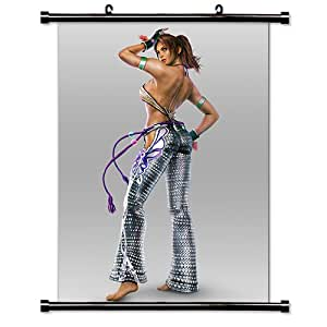 """Tekken Anime Fabric Wall Scroll Poster (16"""" x 21"""") Inches"""
