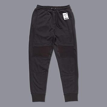SCRAMBLE Bullpen Pantalón de Chándal Negro - Negro, XL: Amazon.es ...