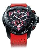 Tonino Lamborghini Spyder - Black and Red Chronograph Watch