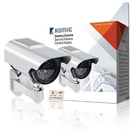 König SAS-DUMMYCAM35 cámara de Seguridad ficticia - cámaras de Seguridad ficticias: Amazon.es: Bricolaje y herramientas