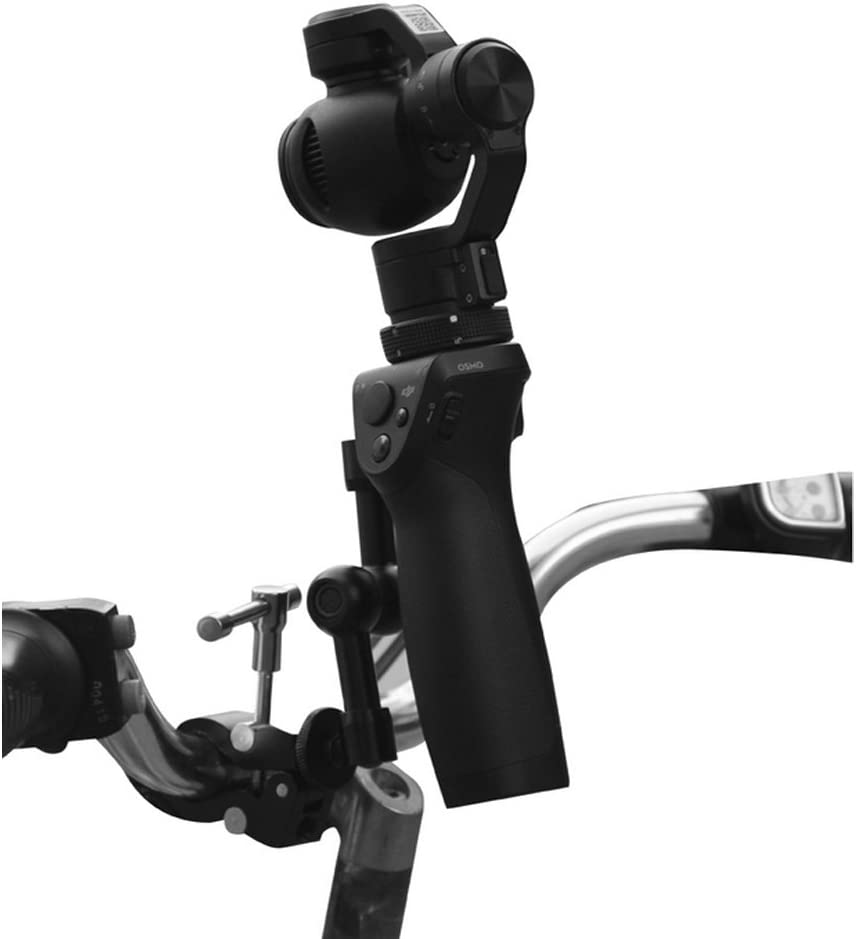 Darkhorse Quick Easy Simple Installation Bicycle Bike Motorcycle Handlebar Seatpost Mount for DJI Osmo Handheld Fully Stabilized 4K 12MP Camera