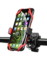 Insten Universal Bicycle Motorcycle Handlebar Phone Holder Cradle W/Secure Grip