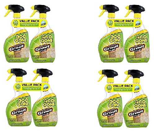 GOO GONE Grout Clean and Restore 28 oz. Trigger Value (8-Pack) by Goo Gone
