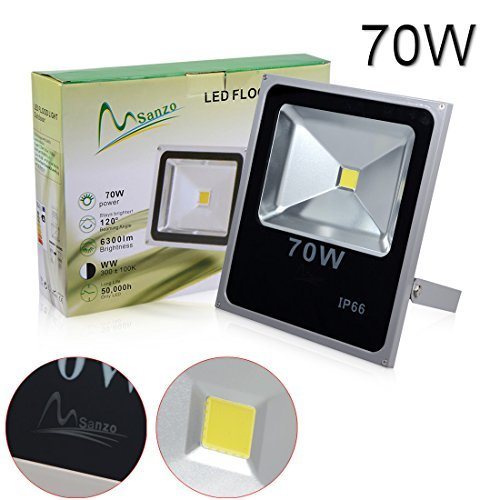 LEDMart 70W Cool White LED Integrated Flood Light (1 pack) For Sale