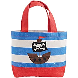 Mud Pie Mini Tote for Child, Pirate