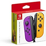 Nintendo Neon Purple/Neon Orange Joy-Con (L-R) - Switch (Japan Import)