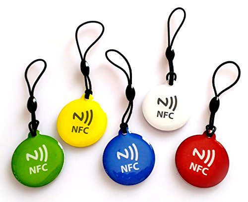 NFC House Topaz512 Epoxy NFC tags Keychain smart tag (Set of