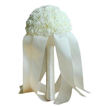 Doitsa Blumenstrauss Hochzeit Kunstliche Blumen Brautstrauss Latex